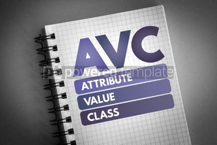 Technology: AVC - Attribute Value Class acronym #06578