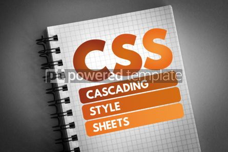 Technology: CSS - Cascading Style Sheets acronym #06579