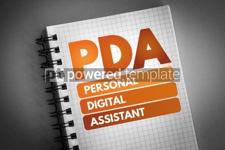 Technology: PDA - Personal Digital Assistant acronym #06580