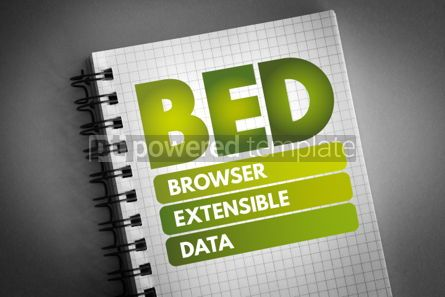 Technology: BED - Browser Extensible Data acronym #06585