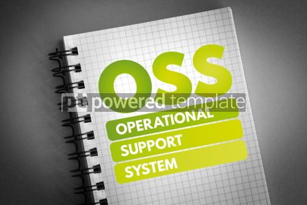 Technology: OSS - Operational support system acronym #06587