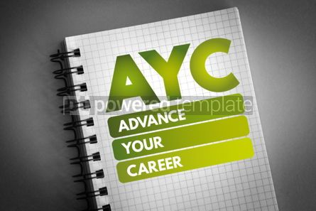 Business: AYC - Advance Your Career acronym #06589