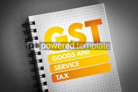 Business: GST - Goods and Service Tax acronym #06592
