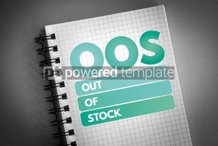 Business: OOS - Out Of Stock acronym #06597