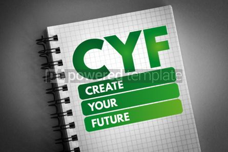 Business: CYF - Create Your Future acronym #06603