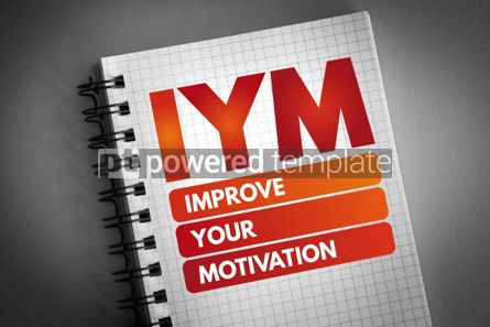 Business: IYM - Improve Your Motivation acronym #06604