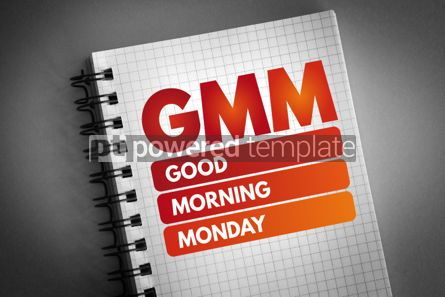 Business: GMM - Good Morning Monday acronym #06605