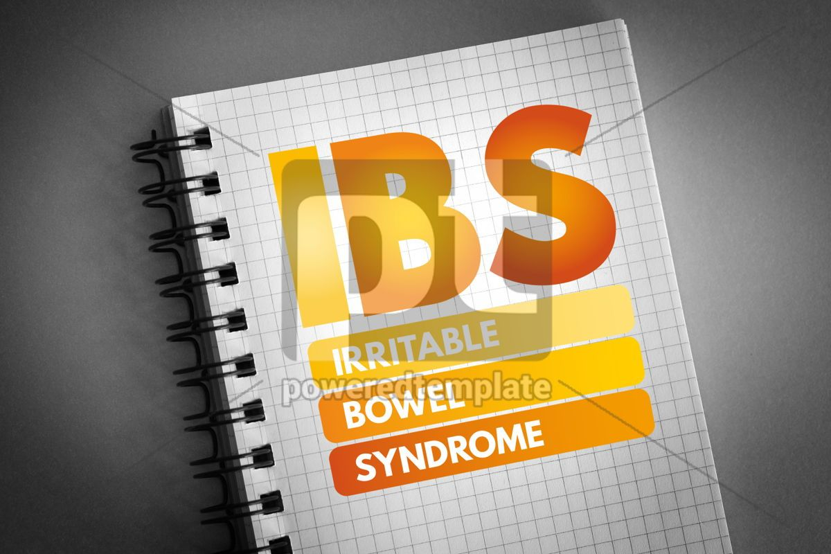IBS - Irritable Bowel Syndrome acronym, 06615, Health — PoweredTemplate.com