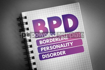 Health: BPD - Borderline Personality Disorder acronym #06619
