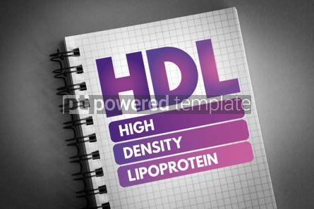 Health: HDL - High-density lipoprotein acronym #06620