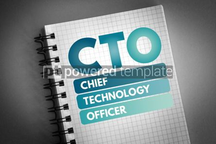 Business: CTO - Chief Technology Officer acronym #06625