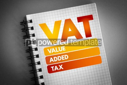 Business: VAT - Value Added Tax acronym #06627