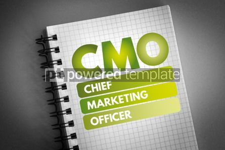Business: CMO - Chief Marketing Officer acronym #06629