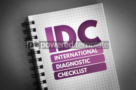 Business: IDC - International Diagnostic Checklist acronym #06644