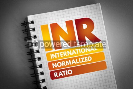 Health: INR - International Normalized Ratio acronym #06654