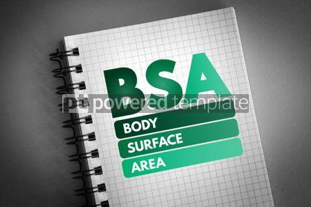 Health: BSA - Body Surface Area acronym #06668