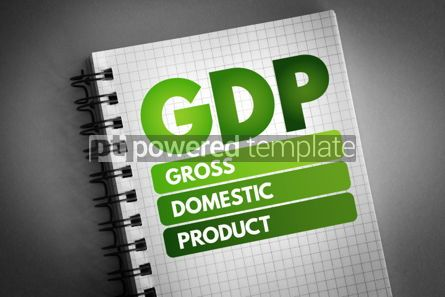 Business: GDP - Gross Domestic Product acronym #06685