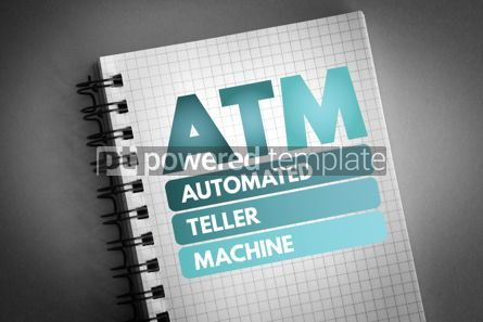 Business: ATM - Automated Teller Machine acronym #06686