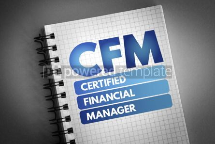 Business: CFM - Certified Financial Manager acronym #06697