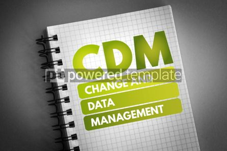 Business: CDM - Change and Data Management acronym #06706