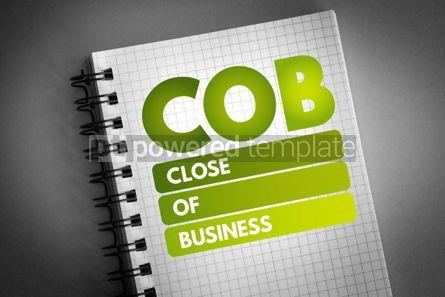 Business: COB - Close of Business acronym #06709