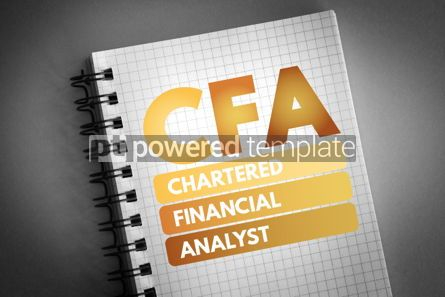 Business: CFA - Chartered Financial Analyst acronym #06712