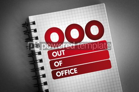 Business: OOO - Out Of Office acronym #06718