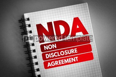 Business: NDA - Non-Disclosure Agreement acronym #06728