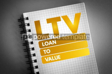 Business: LTV - Loan to Value acronym #06734