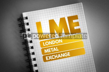 Business: LME - London Metal Exchange acronym #06735