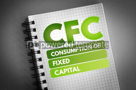 Business: CFC - Consumption of fixed capital acronym #06736