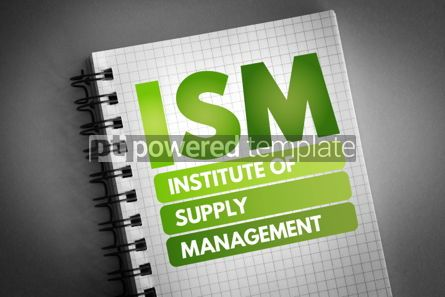 Business: ISM - Institute of Supply Management acronym #06737