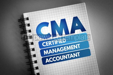 Business: CMA - Certified Management Accountant acronym #06739