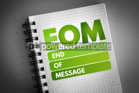 Business: EOM - End Of Message acronym #06741
