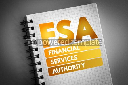 Business: FSA - Financial Services Authority acronym #06745