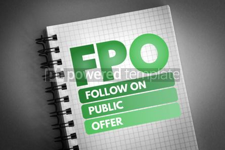 Business: FPO - Follow on Public Offer acronym #06746