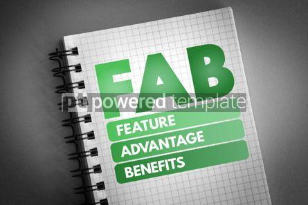 Business: FAB - Feature Advantage Benefits acronym #06747