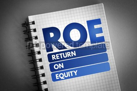 Business: ROE - Return On Equity acronym #06748