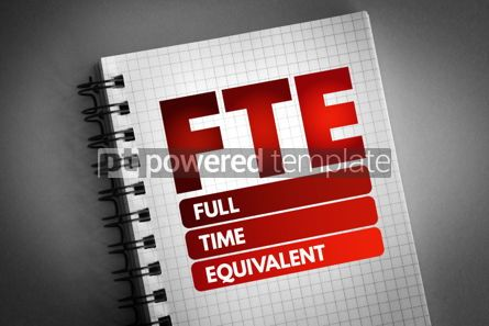 Business: FTE - Full Time Equivalent acronym #06751