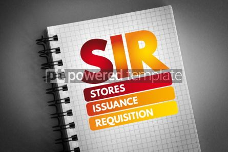 Business: SIR - Stores Issuance Requisition acronym #06755