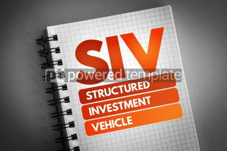 Business: SIV - Structured Investment Vehicle acronym #06756