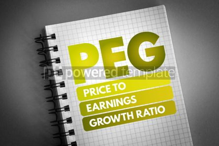 Business: PEG - Price to Earnings Growth ratio acronym #06759