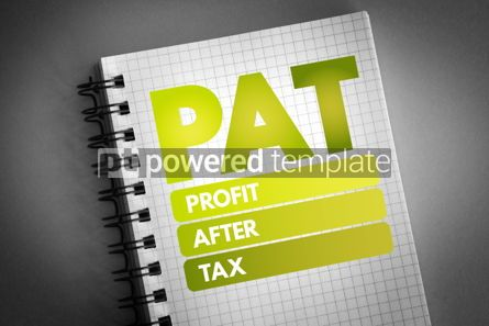 Business: PAT - Profit After Tax acronym #06765