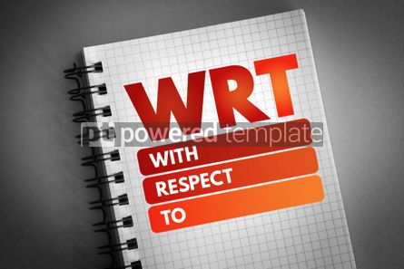 Business: WRT - With Respect To acronym #06769