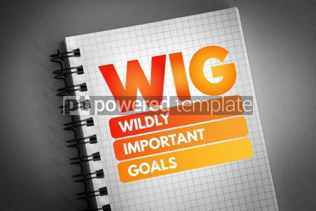 Business: WIG - Wildly Important Goals acronym #06778