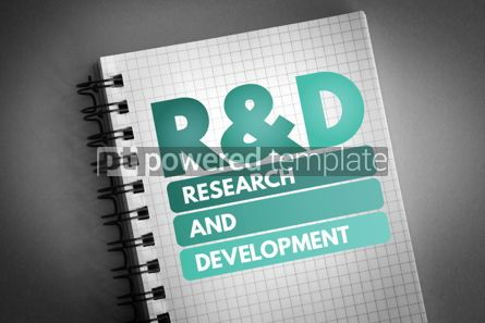 Business: R&D - Research and Development acronym #06781