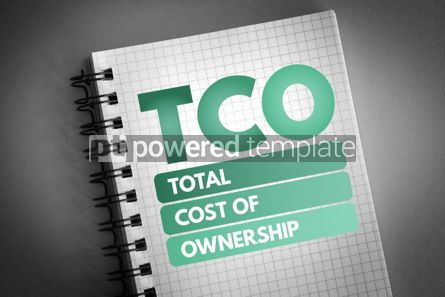 Business: TCO - Total Cost of Ownership acronym #06786