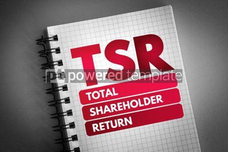 Business: TSR - Total Shareholder Return acronym #06789