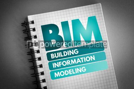Business: BIM - Building Information Modeling acronym #06795