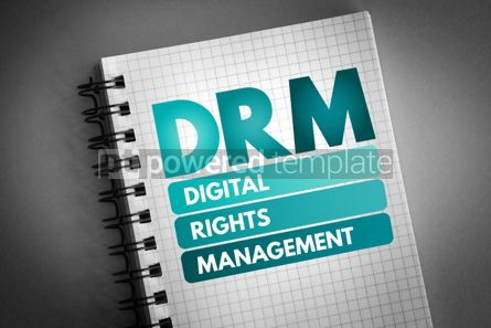 Business: DRM - Digital Rights Management acronym #06796